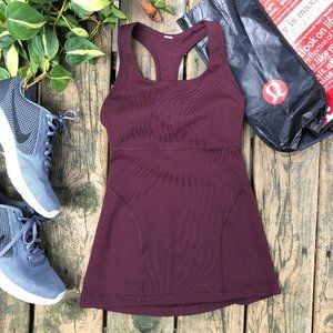 Lululemon Power Up Tank in Bordeaux Drama, 4
